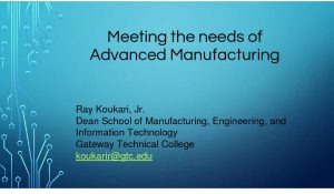 Icon of Meeting The Needs Of Advanced Manufacturing March 7 2019 Ray Koukari