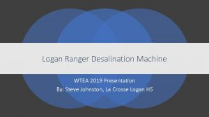 Icon of Logan Ranger Desalination Machine SteveJohnston