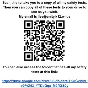 Icon of Google Forms Safety Test Examples - Google Docs
